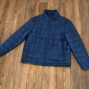 Lands end men's light puffer jacket